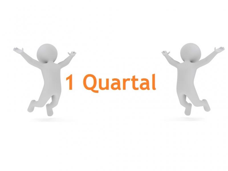 Mitgliedschaft Q+ | 1 Quartal | 2 Personen